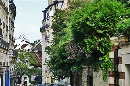 Апартаменты с 1 спальней в XVIII округе Парижа