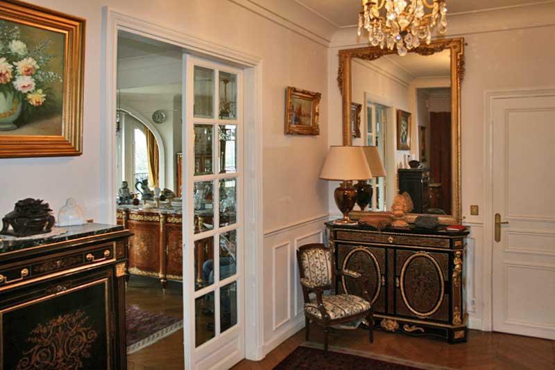 Роскошная квартира с видом на Сену и Эйфелеву башню