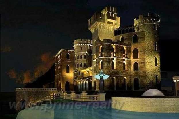 Замок на лазурном берегу франции купить