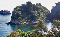 Остров рядом с Сицилией в Италии